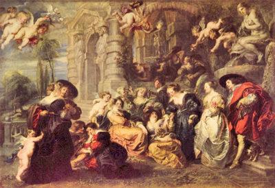 Peter Paul Rubens Love Garden