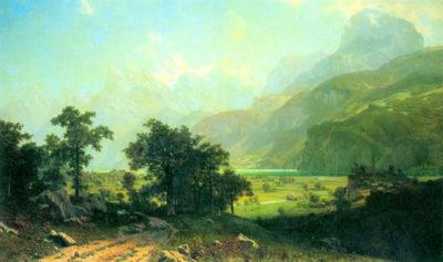 Albert Bierstadt Lucerne Switzerland