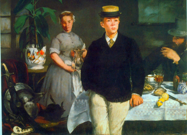 Édouard Manet Luncheon
