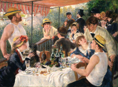 Pierre-Auguste Renoir Luncheon at the boating party