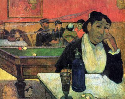 Paul Gauguin Madame Ginoux in Cafe