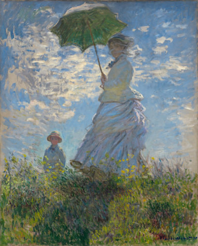 Claude Monet Madame Monet and Her Son