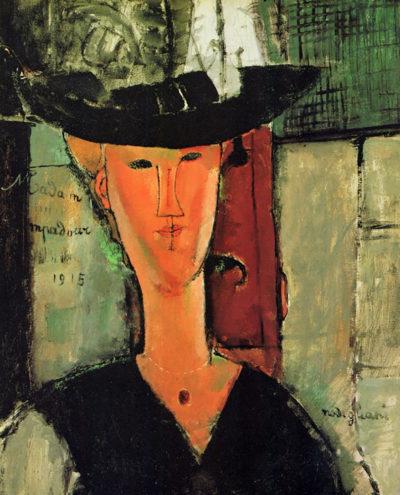 Amedeo Clemente Modigliani Madame Pompadour