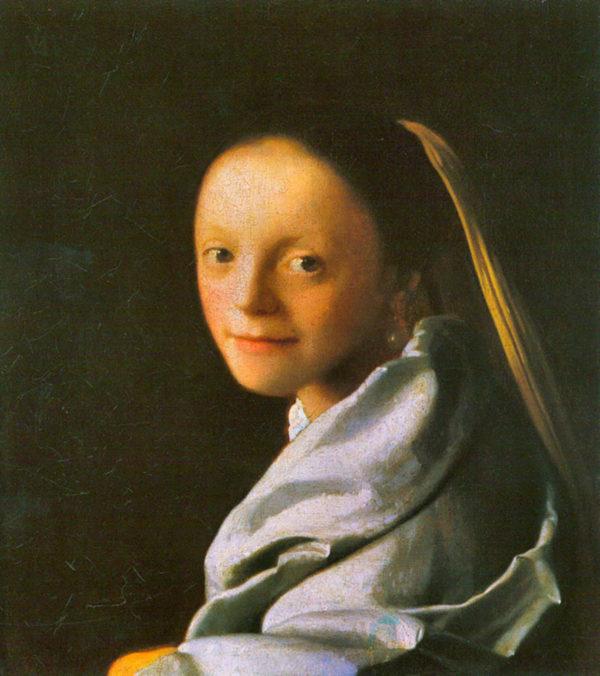 Johannes Vermeer Maid