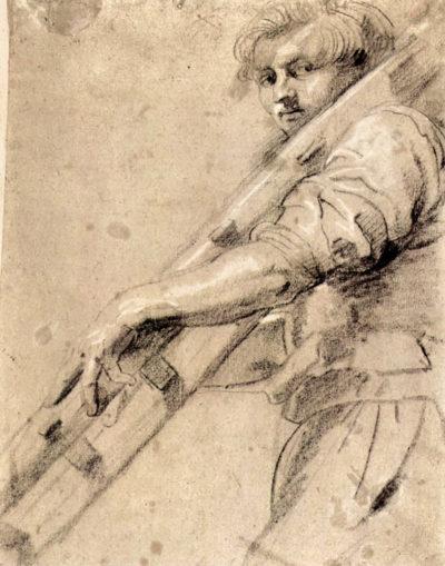 Peter Paul Rubens Man carrying a ladder