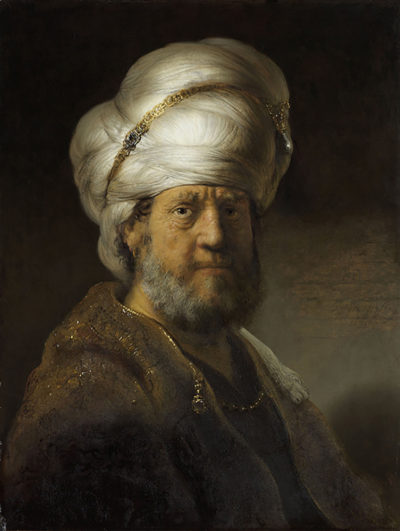 Rembrandt Harmensz. van Rijn Man in Oriental Dress