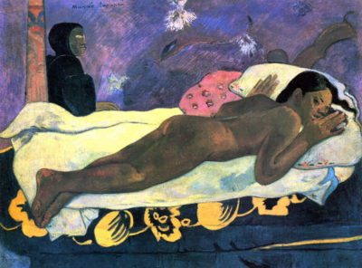 Paul Gauguin Manao Tupapau