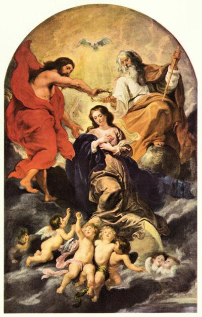 Peter Paul Rubens Marie's coronation