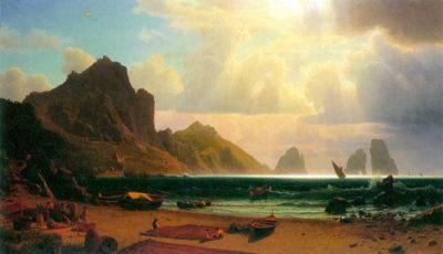 Albert Bierstadt Marina Piccola