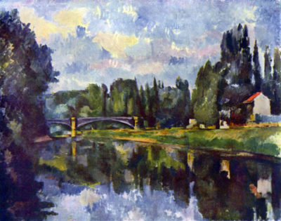 Paul Cézanne Marne Shore