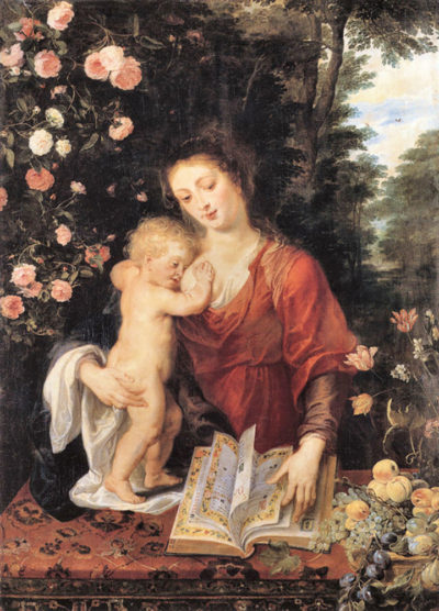 Peter Paul Rubens Mary with child
