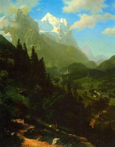 Albert Bierstadt Matterhorn