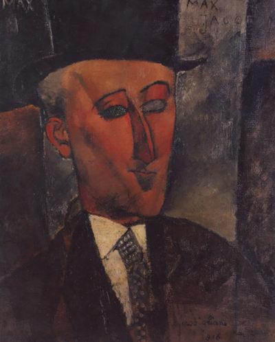 Amedeo Clemente Modigliani Max Jacob