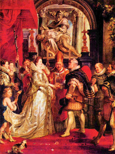 Peter Paul Rubens Medici Marriage in Florence