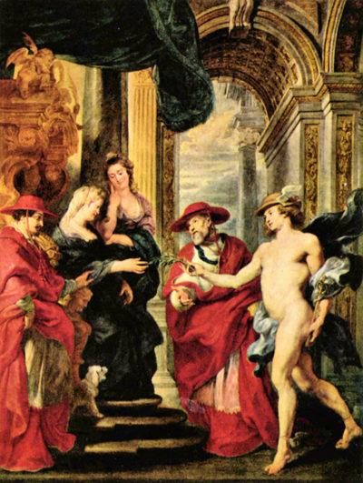 Peter Paul Rubens Medici Treaty of Angoulàme
