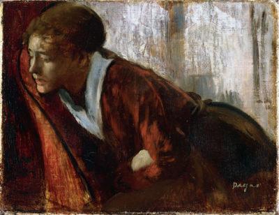 Edgar Degas Melancholy