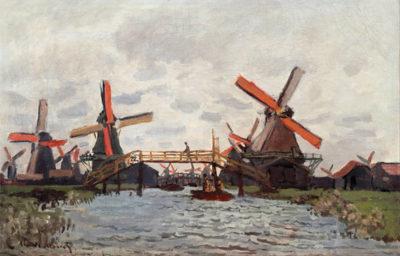 Claude Monet Mills near Zaandam