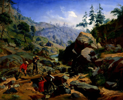 Charles Christian Nahl Miners in the Sierras