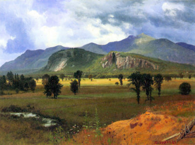Albert Bierstadt Moat Mountain