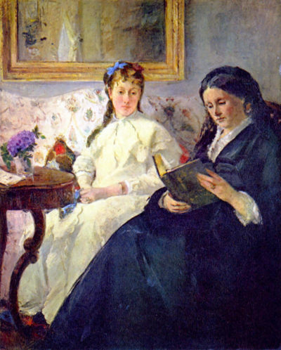 Berthe Morisot Mother and sister of the artist
