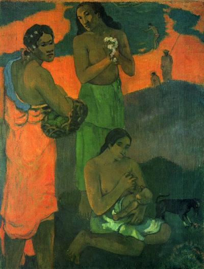 Paul Gauguin Motherhood