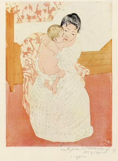 Mary Cassatt Motherly tenderness