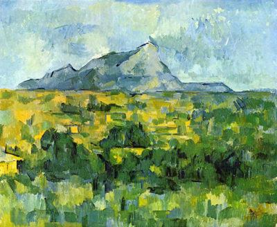 Paul Cézanne Mount St. Victoire