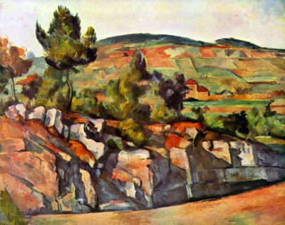Paul Cézanne Mountains in Provence