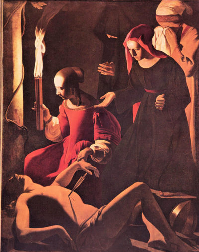 Georges de La Tour Mourning of St. Sebastian by Irene
