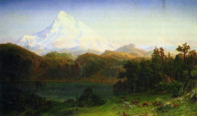 Albert Bierstadt Mt. Hood Oregon