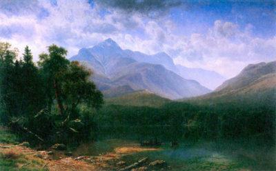 Albert Bierstadt Mt. Washington