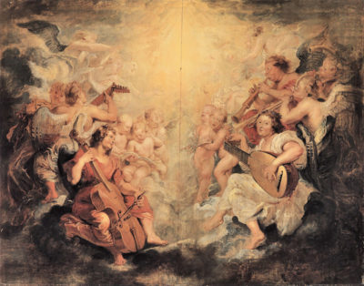 Peter Paul Rubens Musical Angel