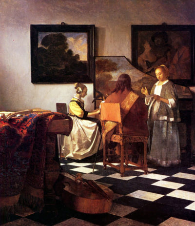 Johannes Vermeer Musical Trio
