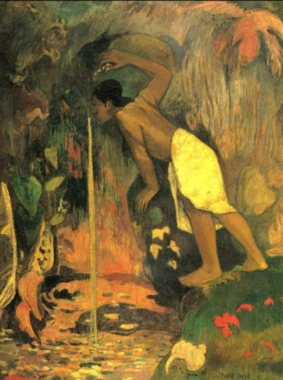 Paul Gauguin Mysterious Source
