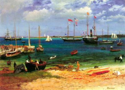 Albert Bierstadt Nassau port