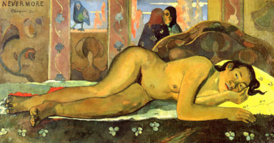 Paul Gauguin Nevermore