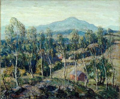 Ernest Lawson New England Birches