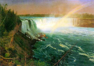Albert Bierstadt Niagra Falls