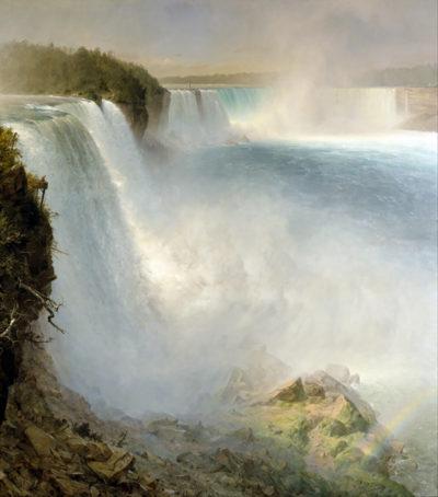 Frederic Edwin Church Niagra Falls from the American side