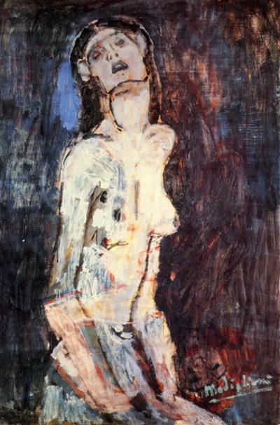 Amedeo Clemente Modigliani Nude