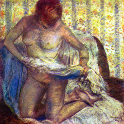 Edgar Degas Nude Woman
