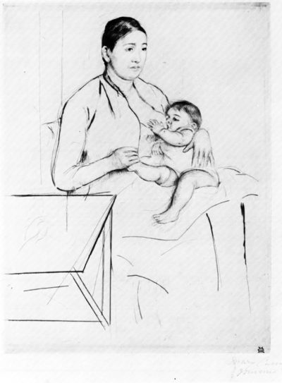 Mary Cassatt Nursing