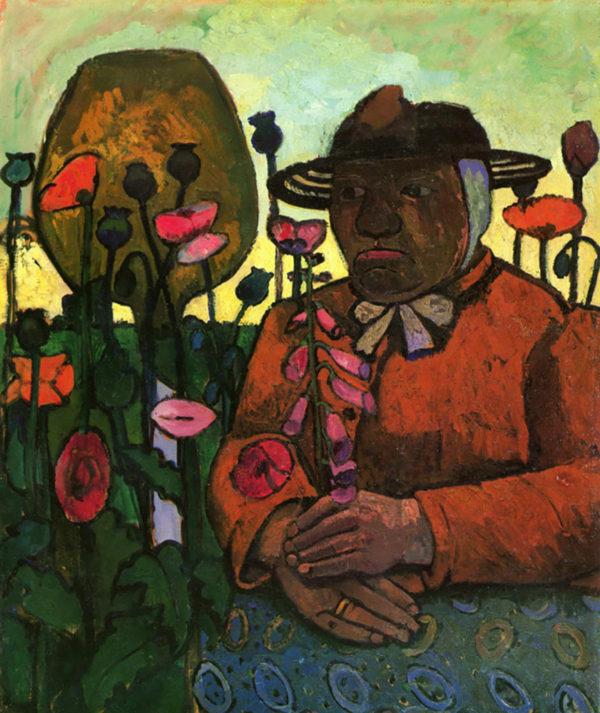 Paula Modersohn-Becker Old Woman in the garden