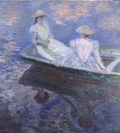Claude Monet On the Boat