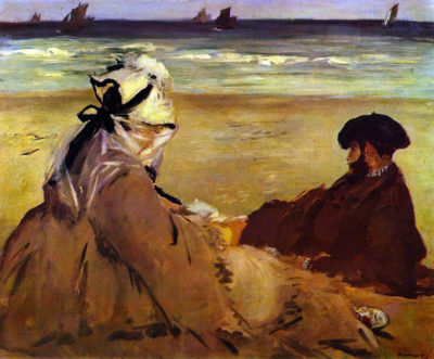 Édouard Manet On the beach