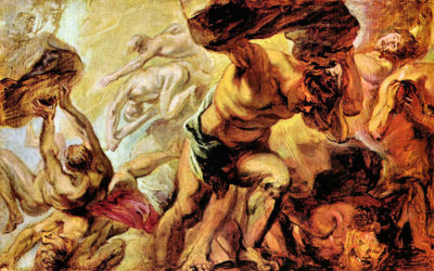 Peter Paul Rubens Overthrow of the Titans