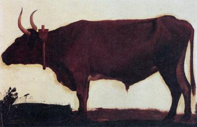 Albert Bierstadt Ox