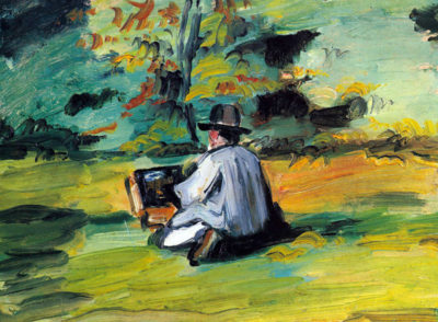 Paul Cézanne Painter at Work
