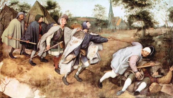 Pieter Bruegel Parabal of the blind men