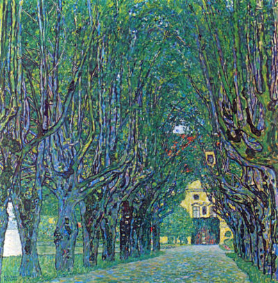 Gustav Klimt Park Alley of Schloss Kammer